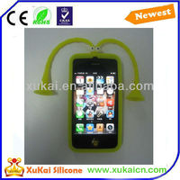 Lovely design silicone phone case for iphone4s