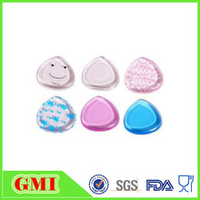 Baby Silicone Gel Transparent Refillable Powder Puff for Makeup Blender
