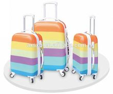 Trendy style special design suitcase luggage with removable wheels