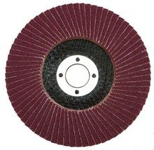 Aluminum oxide abrasive flap disc for mental and stainless steel grinding