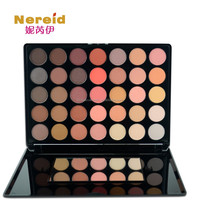 Hot sale 35 color eyeshadow shimmer or matte palette neutral color palette