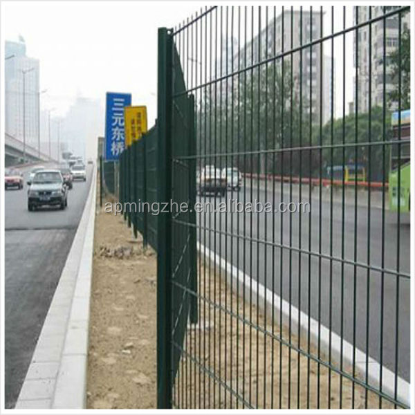 Good quality road safety barrier fence / security highway protection fence