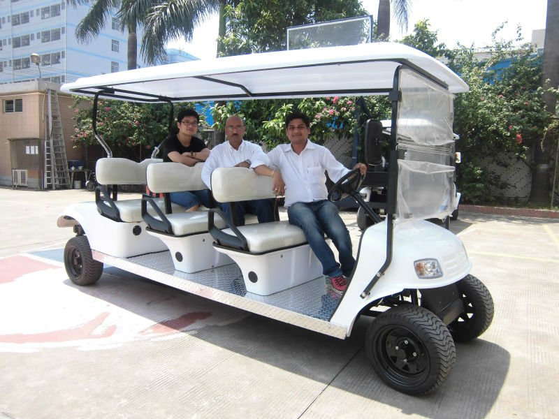 8 seaters electric sightseeing car hotel use passanger cars