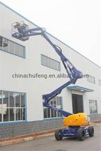 China manufacturer 200kg capacity trailer mounted boom lift genie boom lift for sale