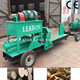 Forest Use 5-8 t/h Mobile Horizontal Wood Log Splitter for Sale