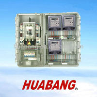 PC/ABS Single Phase 4 Gang Waterproof Distribution Box