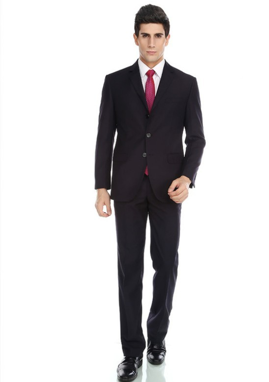 latest design black coat pant mens suits 2015