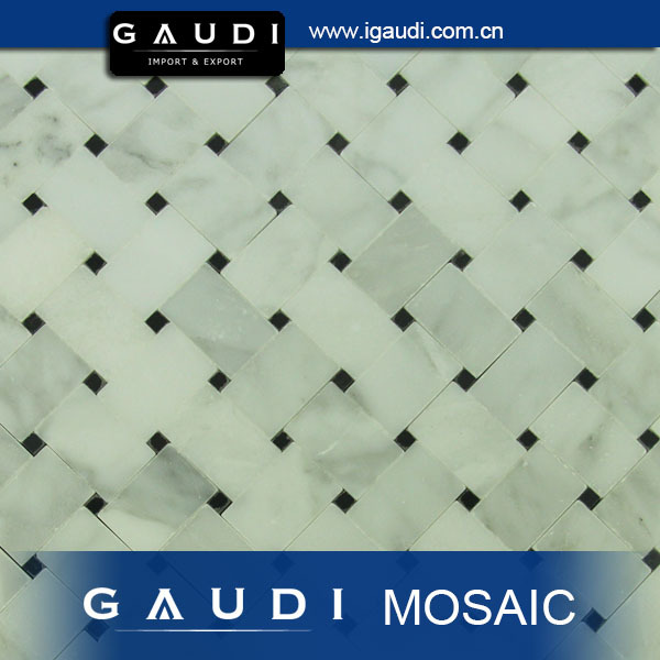 floor tiles cream marble mosaic