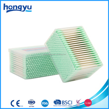 Strong double tip cosmetic dental medical cotton swabs