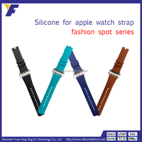 wholesale 42mm silicone watch band