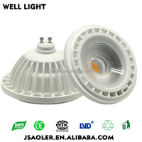 led light manufacture sale 15w cob ar111 gu10 led spotlight led downlight
