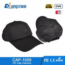 Low Price 720P HD Video Recording Body Worn Mini Hidden cap wearable Camera