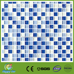 Shiny broken glass mosaic tile