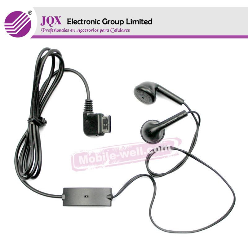 higt quality Stereo handsfree Headset headphone earphone for SAMSUNG cell phone s5830 i9000