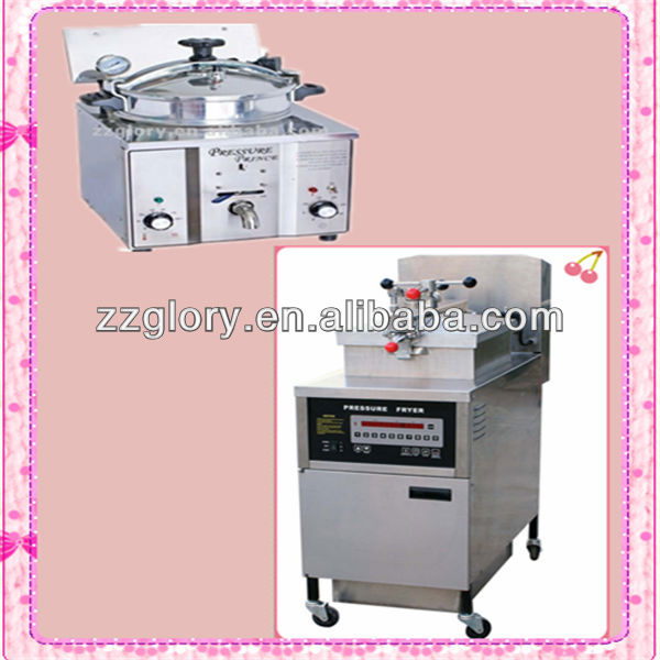 High quality stainless steel used chicken pressure fryers