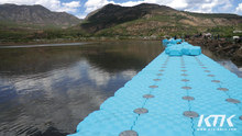 High quality hdpe floating dock plastic pontoon cubes for hot sale make in china