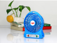 Large battery powered mini usb fan for iphone rechargable micro usb fan