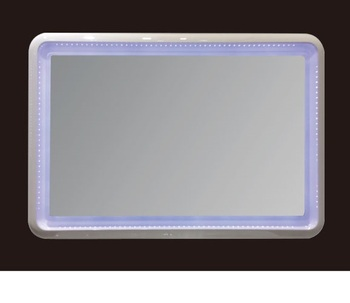 Easy Installation Fashion Style Frameless Home Decor Bathroom LED Mirror