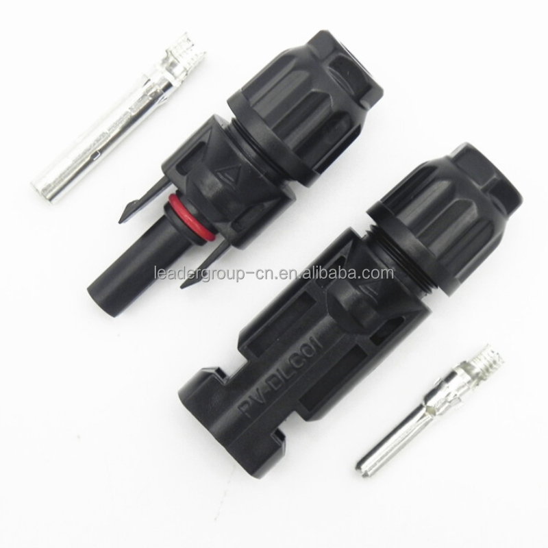 <strong>1000</strong> pairs Hot sale terminal MC4 solar connector male and female MC4 multi contact compatible cable connectors