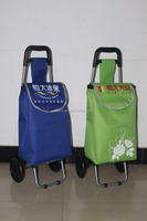 cheap print logo folding promoted shopping trolley bag