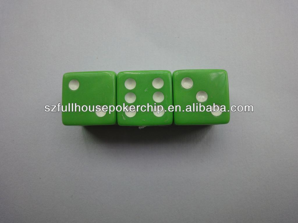 Acrylic Dice In Sports Entertainment Ceramic