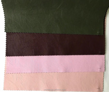 PU leather for garment, Elastic fabric backing