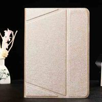 New arrival flip stand leather case for ipad 6 table cover case