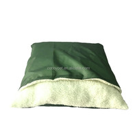 163-01 Custom cushion with cover design soft washable dog pet beds