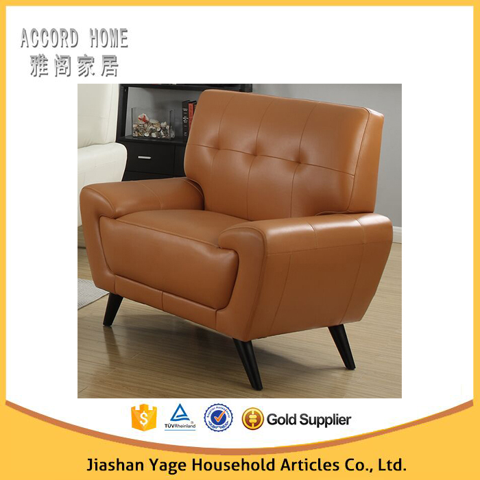 Cheap Genuine Leather Sectional Sofa: Cheap Genuine Leather Sofa Yellow Leather Chesterfield