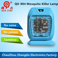 QX904-1 high effective mosquito killer lamp mosquito racket zapper no noise no posion tasteless with UV light