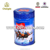 Alibaba china Round tea tin can for gift