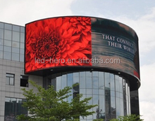 p6.67/p10 soft flexible indoor led displays/round /circle can be any shape led module /led running message display