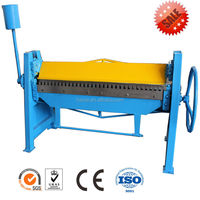 MANUAL metal bender steel plate folding machine