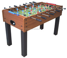 High quality 4ft futbol soccer table MDF playfield kid's baby foot game table with 8 steel rods