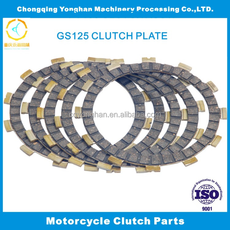 Top OEM Quality ,GS125 ,Motorcycle Friction Plate, Motorbike Clutch Fiber, Motorcycle Clutch Lining