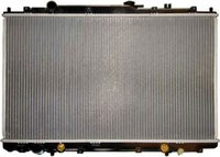 auto radiator with plastic tanks for car oem:19010-p8f-a51