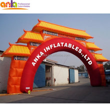 Newest arch design inflatable door model arch for events