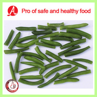 IQF green beans(whole & cut) by pro of safe and healthy food