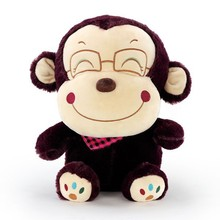 Plush toy made in China OEM funny soft stuffed big mouth monkey