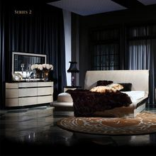 2011 newest wood bedroom style Fancy Classical bedroom furniture set from JL&C Furniture