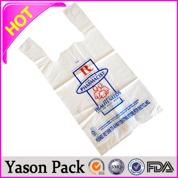 Yason cpp bag plastic coated tote bags pe cling film