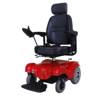 Folding power High back wheelchair for disabled and elderly people NEW