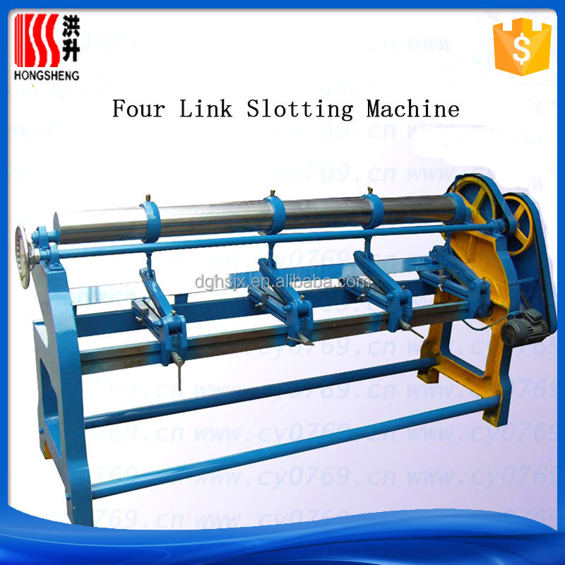 Hebei Dongguang four link grooving machine for hot sale