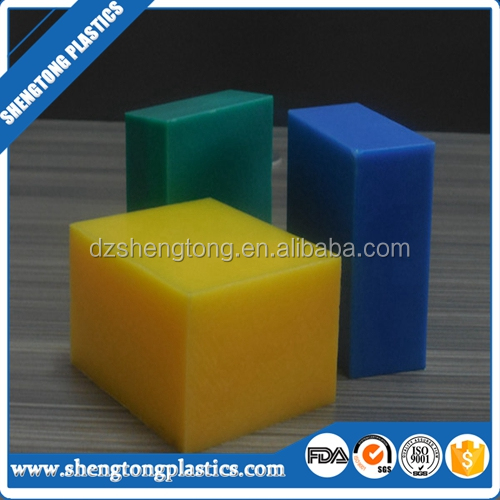 PE solid plastic block with good machinery property