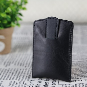 Soft Genuine Leather Business Name Card Pocket