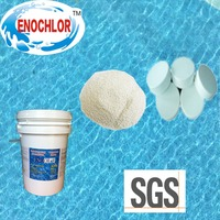 Swimming pool disinfectant chemical TCCA 90% granular