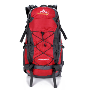 Hot Popular custom 100% polyester outdoor waterproof lightweight hiking bag back pack backpack
