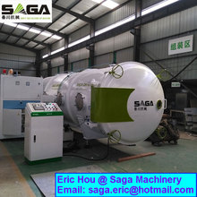 High Frequency Vacuum Dry Wood Machinery HF Timber Kiln Dryer 8 m3 Capacity