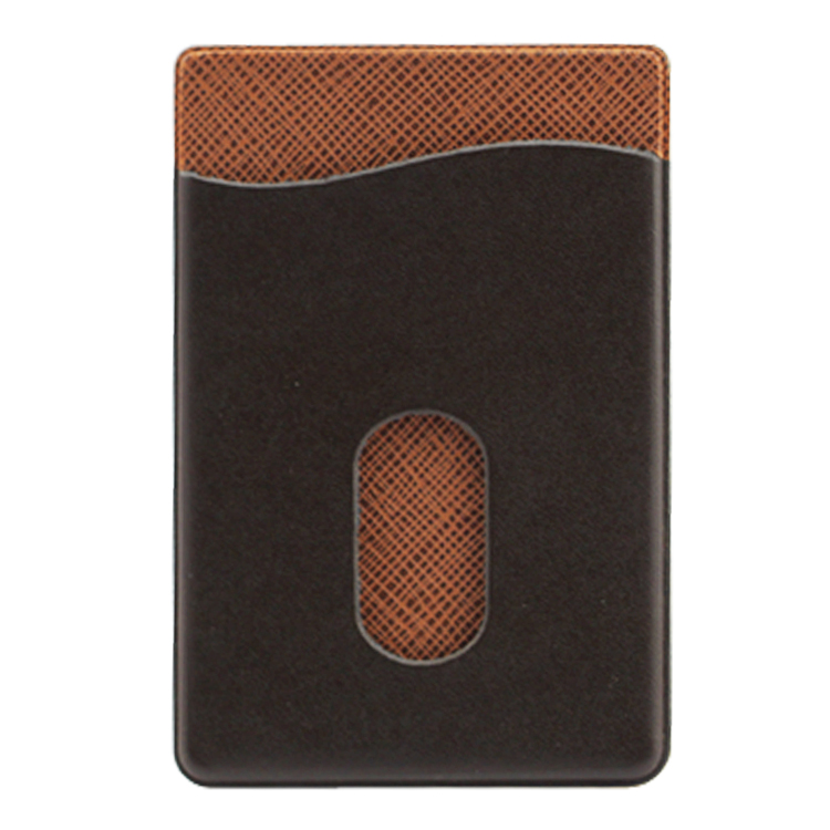 2016 Bulk Sale Universal PU Leather Phone Case Card Holder with Sticker