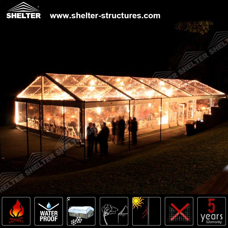 500 people cheap clear roof wedding tents for sale